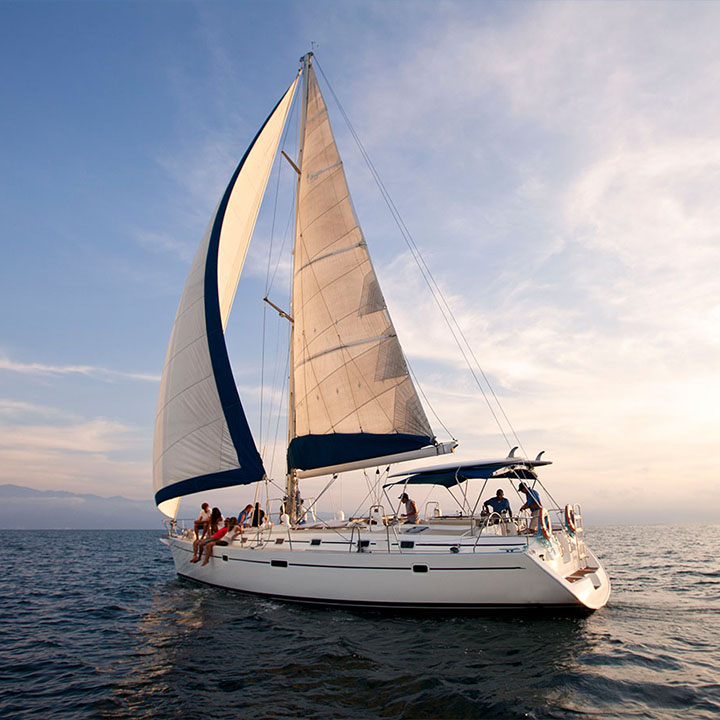 Sailing yacht cruise