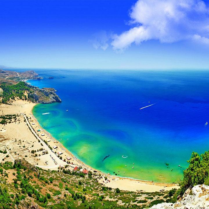 Tsabika beach