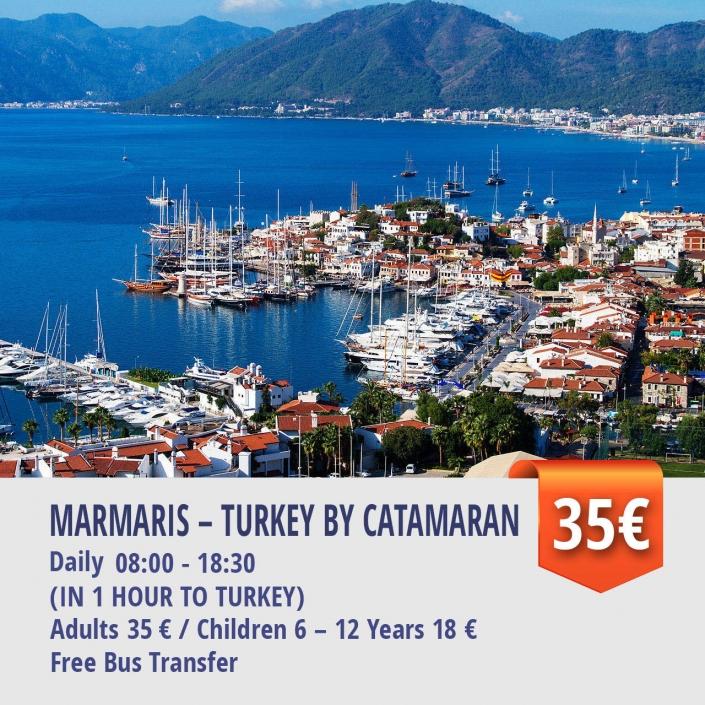 MARMARIS – TURKEY BY CATAMARAN