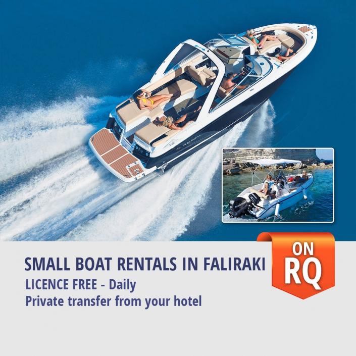 Small Boat Rentals in Faliraki